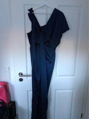 Asos Robe de soirée bleu foncé