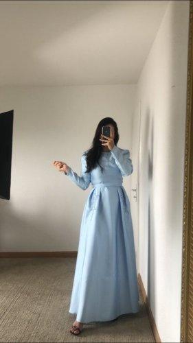 Azra Robe de soirée bleu clair