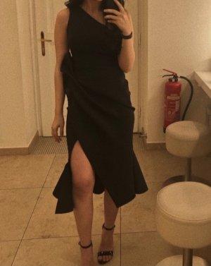 Asos Sukienka na jedno ramię czarny