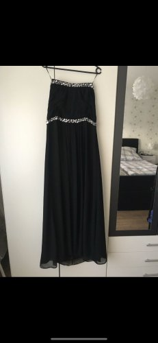 Sixth Sense Evening Dress black-silver-colored