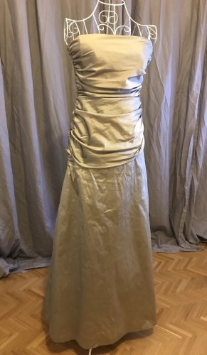 Barbara Schwarzer Evening Dress silver-colored