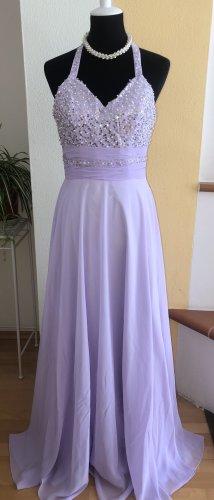 Vestido de baile púrpura