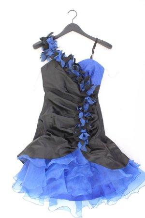 Abendkleid Größe 34 neu mit Etikett Träger schwarz aus Polyester