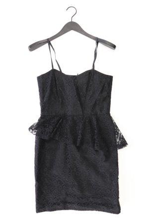 Abendkleid Größe 38 Träger schwarz aus Polyester
