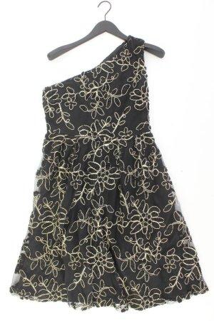 Chiffon jurk zwart Polyester