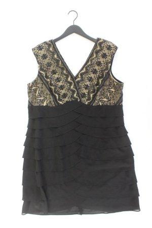 Abendkleid Größe 48 Ärmellos schwarz