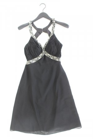 Abendkleid Größe S Träger schwarz aus Polyester