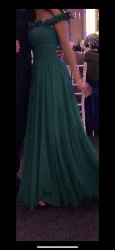 Abendkleid grün