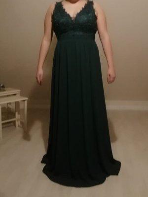 Abendkleid grün dunkelgrün gr 48
