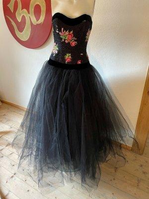 Brigitte Hernuss Avondjurk veelkleurig