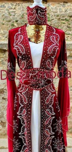 100% Fashion Suknia wieczorowa Wielokolorowy