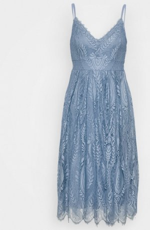 -8- Venice Midi Dress azure