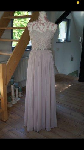 Abendkleid, Hochzeitskleid von unique mit Schal