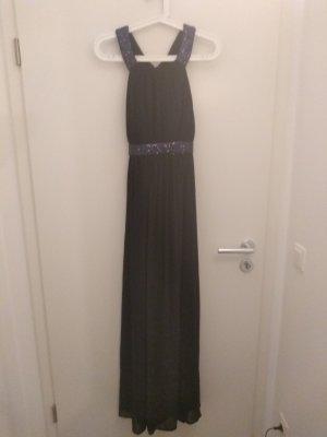 Abendkleid in 36, navy