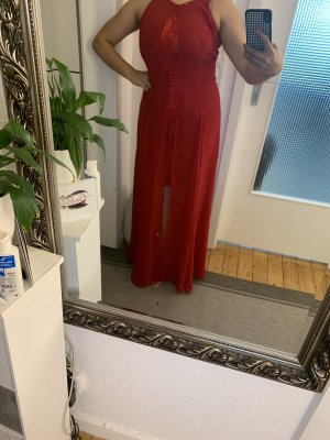 Ashley Brooke Evening Dress dark red