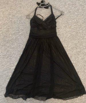 Orsay Sukienka z dekoltem typu bandeau czarny