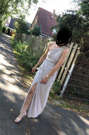 Abendkleid in silber Gr. 36 *neu*
