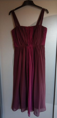 Abendkleid Kleid bordeaux bugunderrot lila