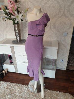 Abendkleid,  Kleid für besondere Anlässe,  Schulterfreifrei.  Flieder,  lila