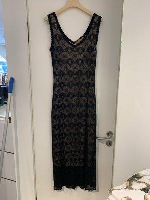 Abendkleid Kleid lang gr 38 neu schwarz