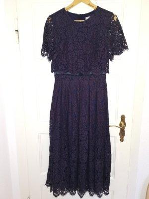 Abendkleid Kleid Lochstickerei Asos Gr.38