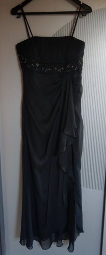 Ambiance Evening Dress black-silver-colored