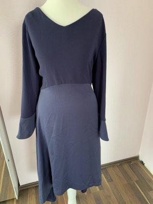 Abendkleid Knielang gr.42 dunkelblau Navy