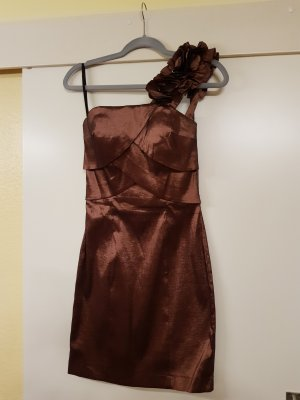 Peek & Cloppenburg One Shoulder Dress bronze-colored