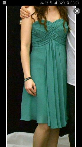 Abendkleid kurz in grün