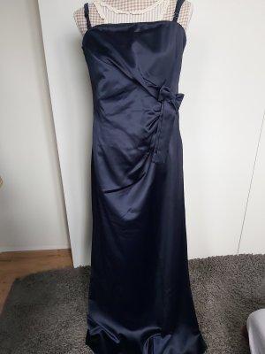 Abendkleid lang in dunkelblau Größe 44 von Fabiani