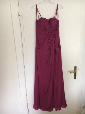 Abendkleid lang pink von Lily