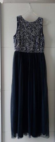 Abendkleid marineblau