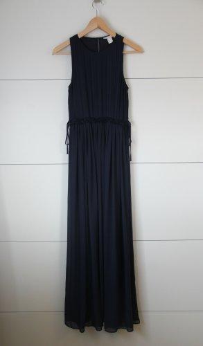 Abendkleid Maxikleid dunkelblau Hochzeit Abschlussball
