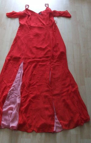 Abendkleid/Maxikleid von Girls on Film - rot - Gr. 40