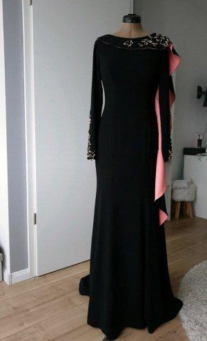 altanight Izmir Evening Dress black-salmon