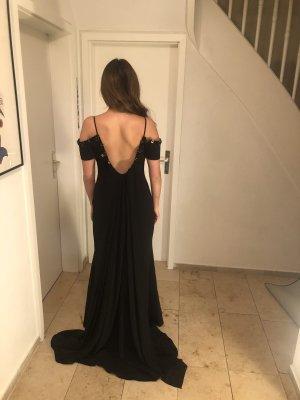 Abendkleid meerjungfraukleid schwarz