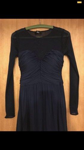 Abendkleid -mesh dunkelblau