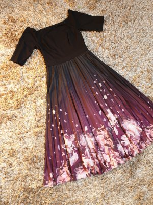 Abendkleid midikleid plissee