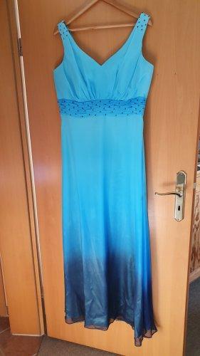 Ascia Robe de soirée bleu clair-bleu