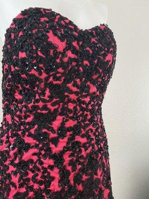 Evening Dress pink-black
