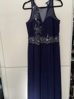 Abendkleid Mitternachtsblau lang