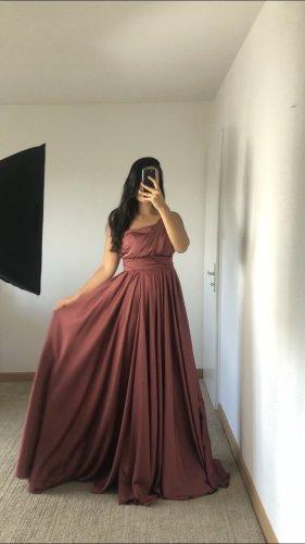 Azra Robe de soirée or rose