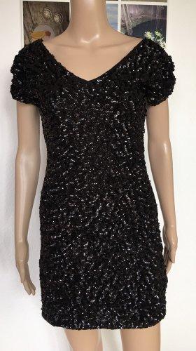 Danity Sequin Dress black