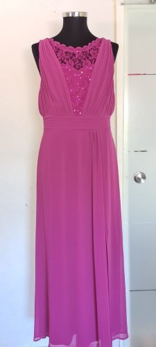 Abendkleid Pink Gr. 52 von Sheego