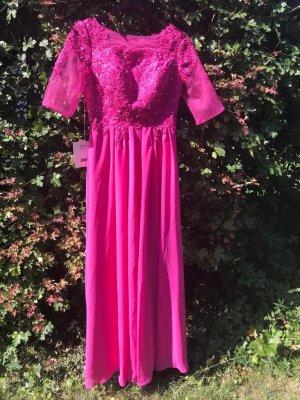 Abendkleid pink Neu mit Etikett