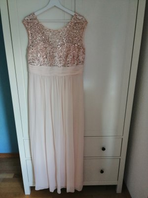 Abendkleid rose/gold
