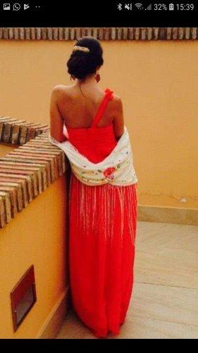 Abendkleid rot 34 wie neu