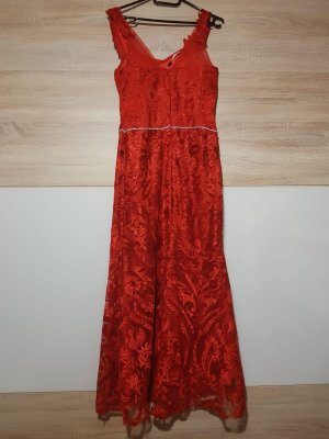 Abendkleid - rot - 38 - top zustand