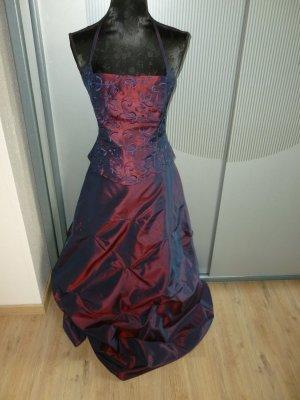 Abendkleid rot blau Chou Chou