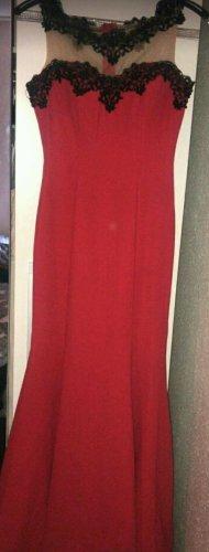 Abendkleid Rot S